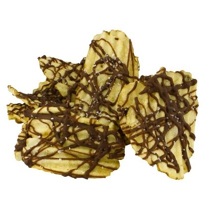 Milk Chocolate Drizzled Potato Chips